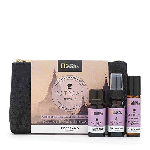 Tisserand Aromatherapy x National Geographic Retreat Travel Kit £4.49 (Prime) + £4.49 (non Prime) at Amazon