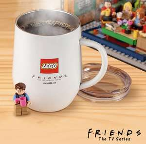 Free Lego Friends Coffee Mug with Purchases of Central Perk @ Lego Online - £64.99