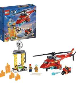 Lego City 60281 Fire Rescue Helicopter £15 (+£4.49 nonPrime) at Amazon