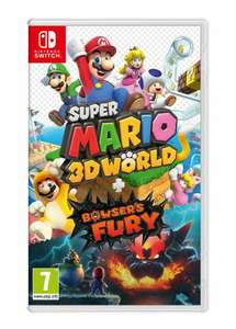 Super Mario 3D World + Bowser's Fury & Steelbook (Nintendo Switch) - £42.17 using code delivered @ Boss-Deals / eBay