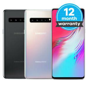Samsung Galaxy S10 5G - 256GB - Silver / Black - EE & Vodafone - Good Condition £226.79 @ Music magpie eBay