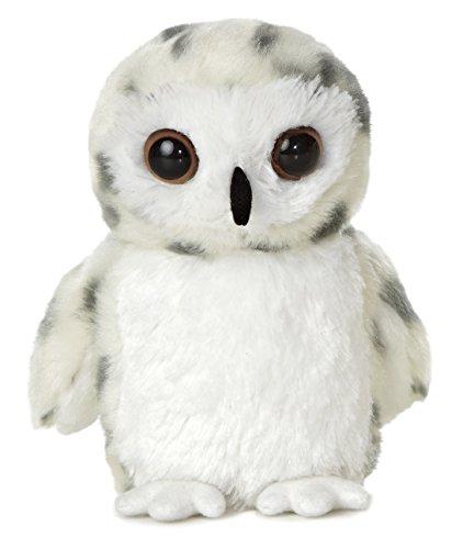 """AURORA 31345 Mini Flopsie Snowy Owl 8"""" Soft Toy £4.24 (+£4.49 nonPrime) at Amazon"""