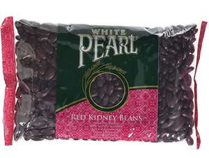 White Pearl Red Kidney Beans - Pack of 10 x 500g £8.26 prime / £12.75 non prime @ Amazon