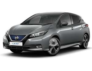 36 mth Lease - Nissan Leaf 110kW N-Connecta 40kWh - 5k miles p/a - £185 pm + £1107 initial + £234 fee = £7801 @ Nationwide Vehicle Contracts