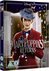 Mary Poppins Returns Blu-ray (Includes Sing-Along Version) [2018] [Region Free] £3.39 @ Amazon (£2.99 p&p non prime)