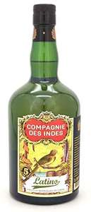 Compagnie des Indes Latino 5 Year Old Rum, 70cl - £19.52 (+ £4.99 Non Prime) @ Amazon