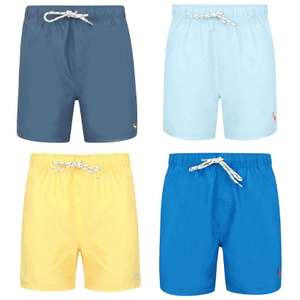 Men's Swim Shorts in 5 colour options, £7 each using code (+ £1.99 delivery / Free on £30) @ Tokyo Laundry @ Tokyo Laundry