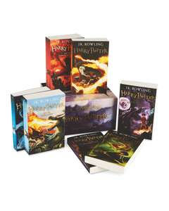Harry Potter Complete Book Collection £29.99 + £2.95 delivery @ Aldi