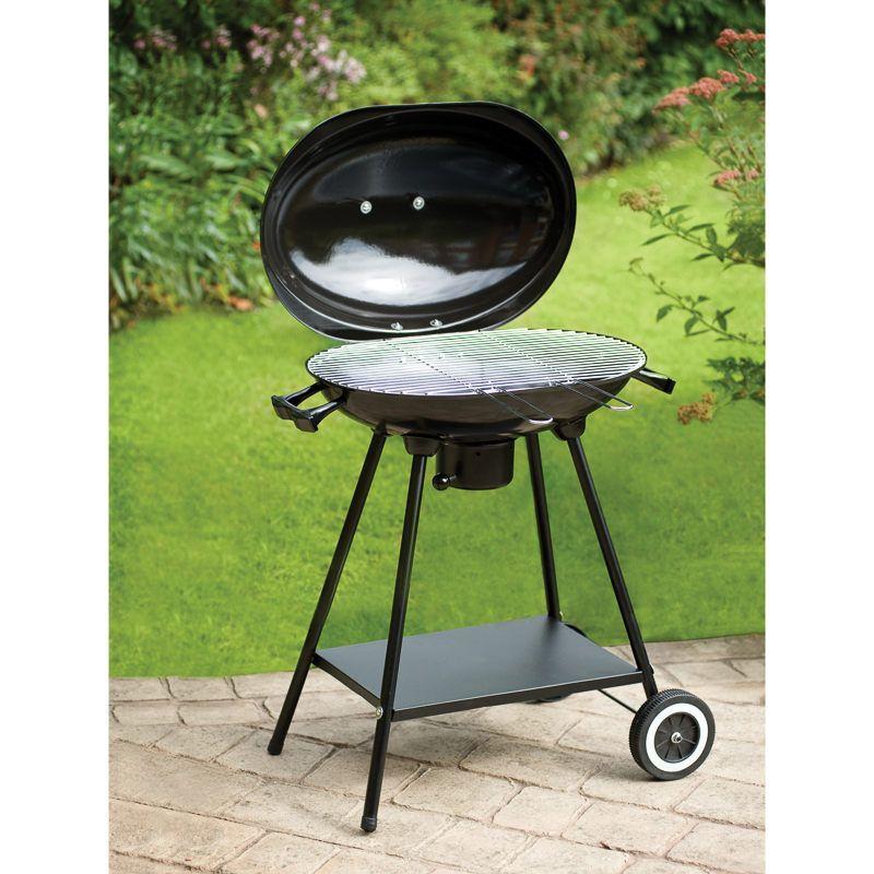 Oval kettle BBQ £30 @ B&M Barrow-in-Furness