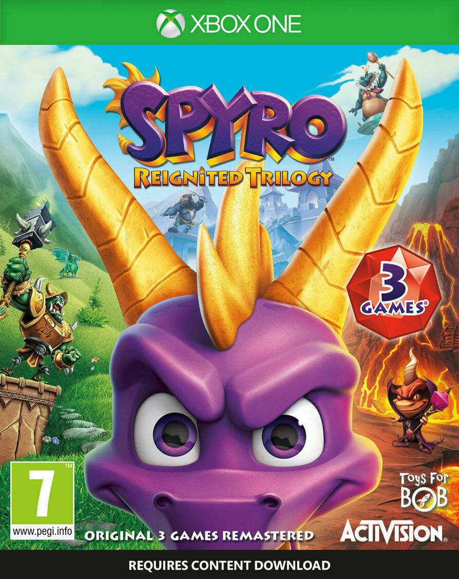 Spyro Reignited Trilogy (Xbox One) used - £11.48 @ musicmagpie / eBay