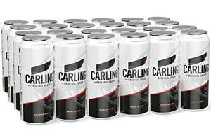 Carling Lager 24 x 440 ml Cans £13.32 Prime / £17.81 non prime @ Amazon, 1-2 Month wait time