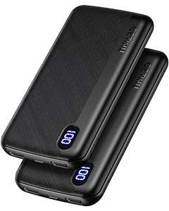 2 X Slim GETIHU Powerbank 10,000mAh £12.73 Prime £17.98 Non Prime Sold by SOLVUE11 and Fulfilled by Amazon