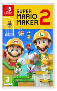 Super Mario Maker 2 (Nintendo Switch) used - £26.95 with code @ musicmagpie / ebay