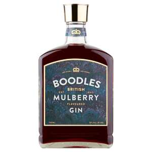 Boodles British Mulberry Flavoured Gin (Abv 30.0%) 700ml - £18 @ Morrisons