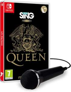 Let's Sing Queen for the Nintendo Switch +1 Microphone Bundle - £23 @ Amazon