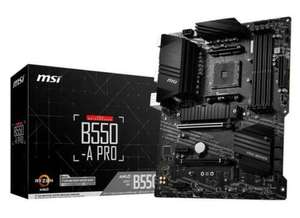 MSI B550-A PRO AM4 ATX Motherboard - £99.99 delivered @ box_uk / eBay