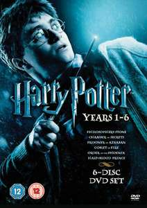 Used: Harry Potter 1-6 DVD Boxset - £5.69 delivered @ Music Magpie