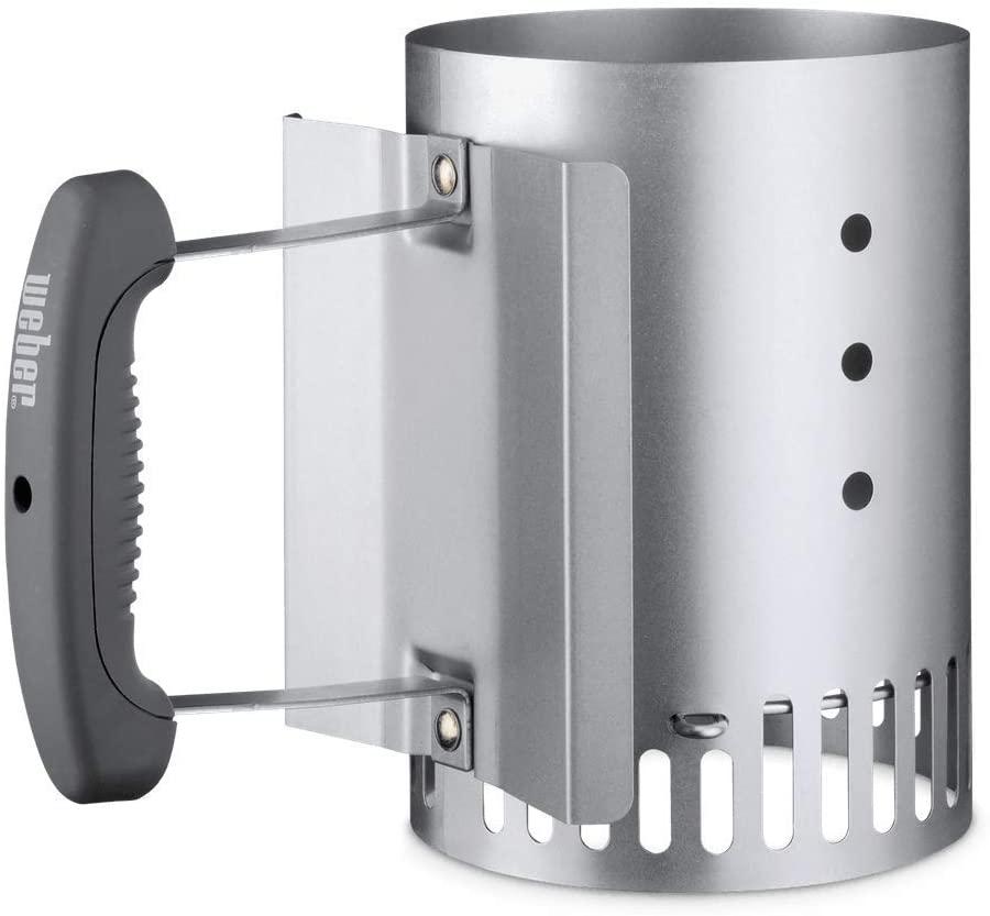 Weber Compact Chimney Starter (Small Version) - £16.76 Prime / +£4.49 non Prime (UK Mainland) Sold by Amazon EU @ Amazon