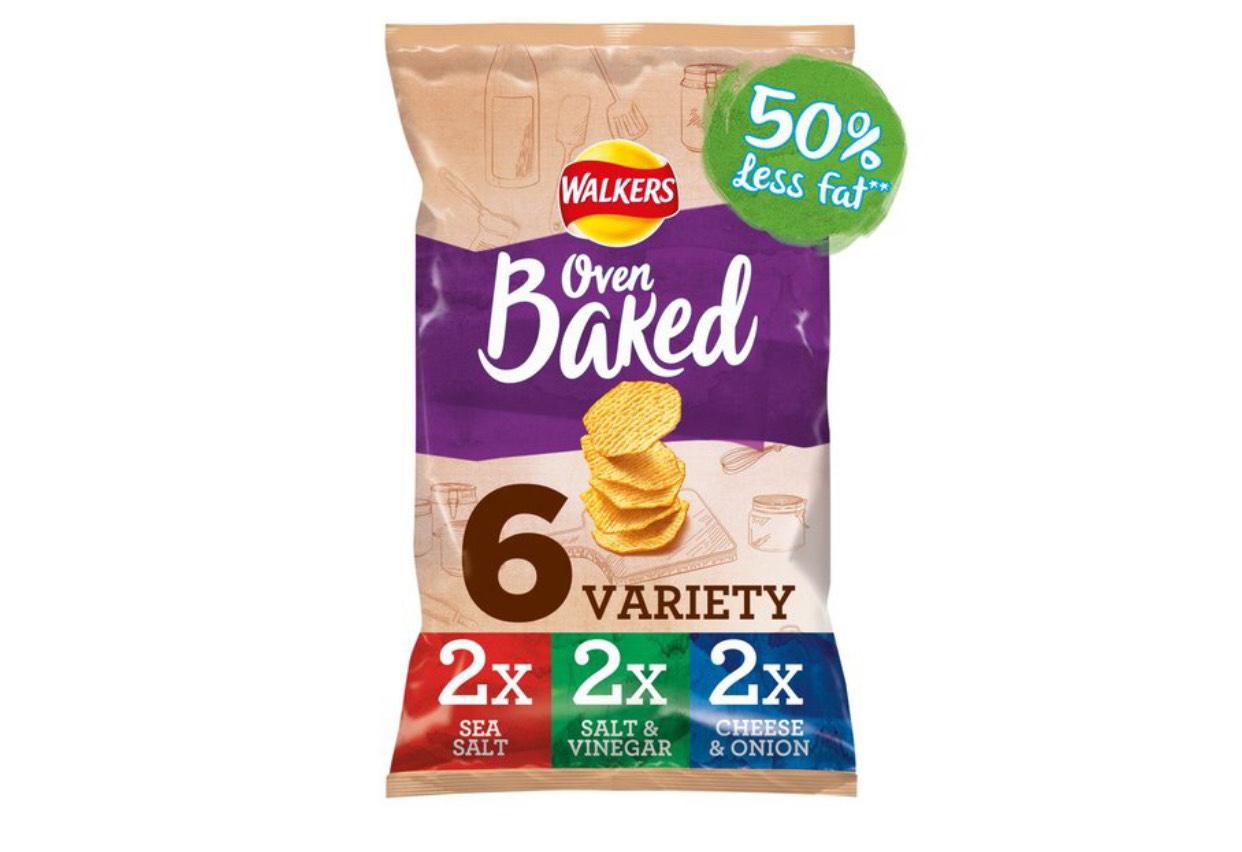 Walkers Baked Variety Multipack Snacks 6 x 25g £1 @ Morrisons