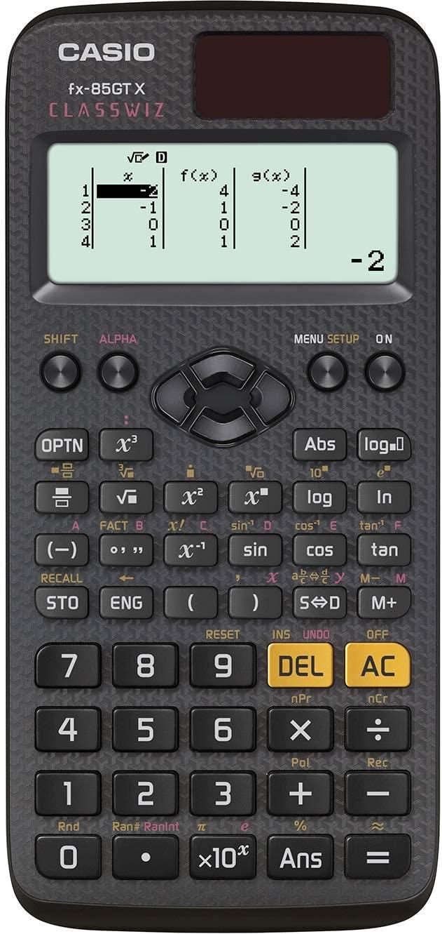 Casio fx-85GTX Scientific Calculator, Black - £10.99 Prime (+ £4.49 Non Prime) @ Amazon