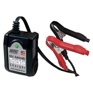 Maypole Automatic Trickle Battery Charger Power Camping £6.33 (+£4.49 Non Prime) @ Amazon
