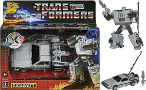 It's back and cheaper!! Transformers Back To The Future Gigawatt - £23.99 delivered using code @ Hasbro eBay
