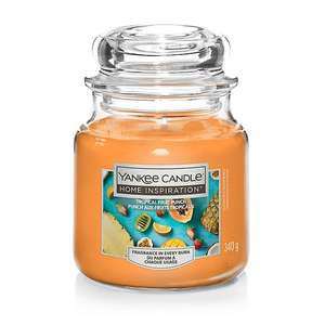 Yankee Candle Home Medium- Tropical/Cherry/Vanilla Frosting/Sugar Blossom/Stony Cove/Cosy Up £6 (Free Click & Collect) @ George (Asda)
