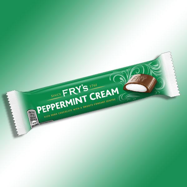 54 x Fry's Peppermint Cream 49g Rich Dark Chocolate Bars £15 @ Yankee Bundles