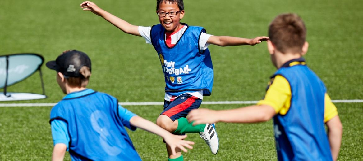 Free Fun Football Sessions for kids 5-11 years via McDonalds