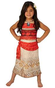 Rubie's Official Disney Moana Childs Deluxe Costume Small (3-4 years) - £11.77 (Prime) + £4.49 (non Prime) at Amazon