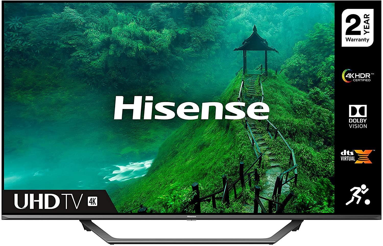 HISENSE 43AE7400FTUK Dolby Vision 43-inch 4K UHD HDR Smart TV (2020 series) - £299.99 @ Amazon