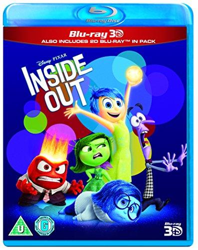 Disney Pixar Inside Out Blu-ray 3D + Blu-ray. £4.37 (+£4.49 Non-Prime) @ Amazon