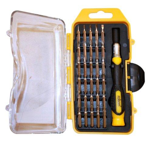 Rolson 28290 Precision Screwdriver Set - 31 Pieces - £3.79 (+£4.49 non prime) @ Amazon