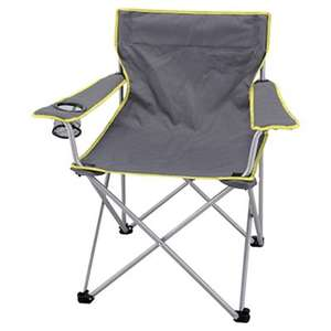 Camping Chairs £8 each or 2 for £12 instore at Tesco (found Woodford)