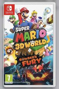 Nintendo Switch Super Mario 3D World + Bowser's Fury - £34.99 Delivered @ Currys PC World