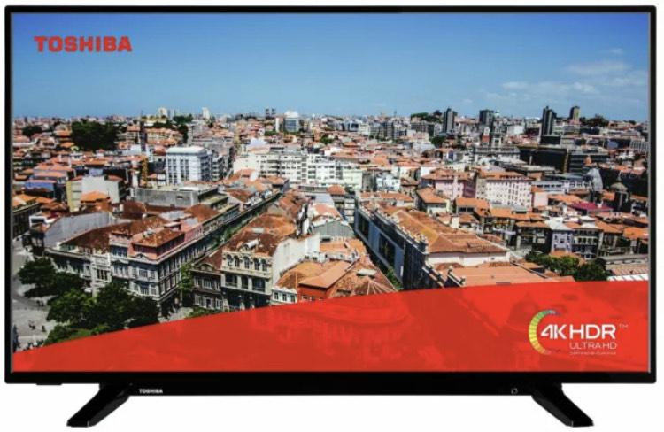 """Toshiba 49"""" 4K Smart TV / Bush 49"""" 4K Smart TV (Refurbished) - £202.99 each Delivered @ Argos / eBay"""