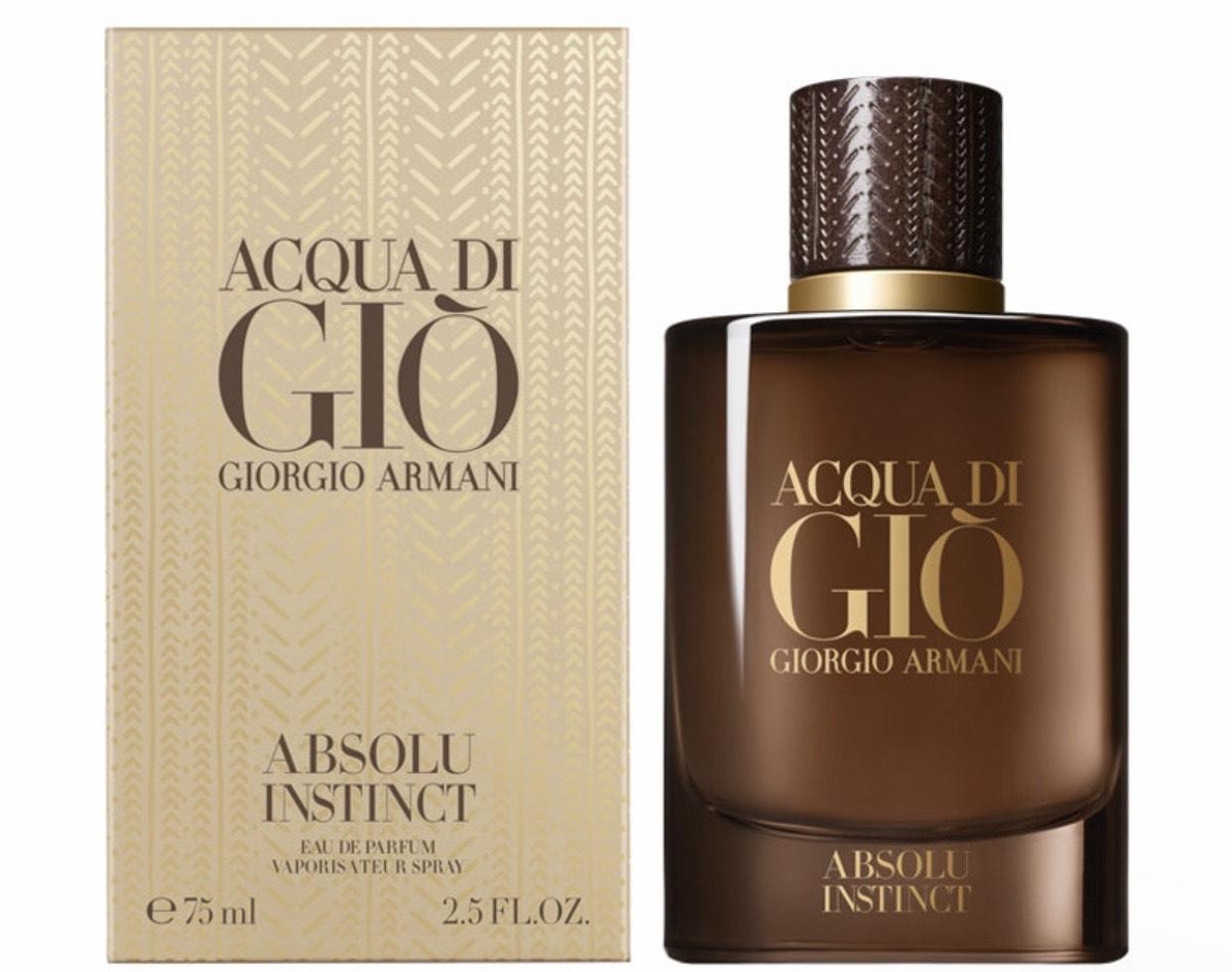 Armani Acqua Di Gio Absolu Instinct Eau De Parfum 75ml Spray £47.97 with code @ Fragrance Shop
