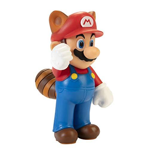 """Super Mario Racoon Mario 2.5"""" Collectible Toy Action Figure £3.00 + £2.99 NP @ Amazon"""