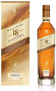 Johnnie Walker Aged 18 Year old Blended Scotch Whisky, 70 cl - £44.90 @ Amazon