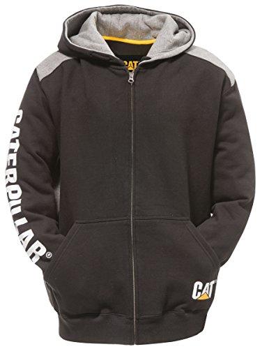 2XL Black Caterpillar, Cat Trade hooded jacket, 1910803-016 - £17.62 (+£4.49 Non Prime) @ Amazon