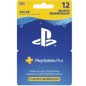 PlayStation Plus 12 Month Subscription £32.49 with code (free delivery / free click and collect) @ Currys PC World