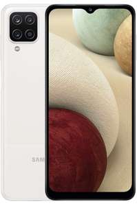Samsung Galaxy A12 SIM Free Android Smartphone / Mobile Phone 64 GB White (UK Version) - £119 Delivered @ John Lewis & Partners