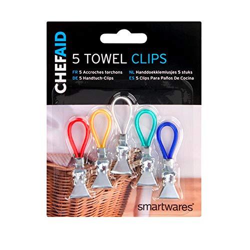 Chef Aid Tea Towel Clips £1.16 (Prime) + £4.49 (non Prime) at Amazon