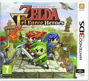 The Legend of Zelda Tri-Force Heroes Nintendo 3DS Game, £4.99 at Argos (Free click and collect)