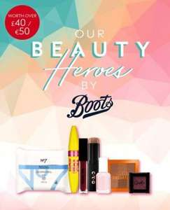 Free Beauty Box worth £40 When You Spend £20 on Selected Products (Delivered Free) @ Boots