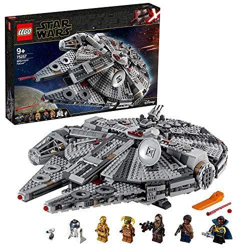 LEGO 75257 Star Wars Millennium Falcon Starship Construction Set £97.70 - @ Amazon