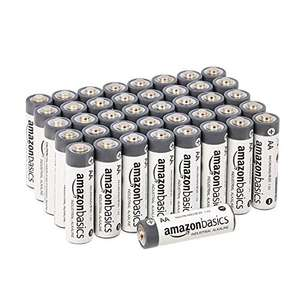 Amazon Basics AA Industrial Alkaline Batteries (Pack of 40) - £7.52 or £7.14 S&S (+£4.49 non Prime) Delivered @ Amazon