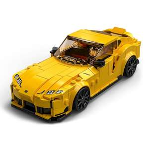 LEGO Speed Champions Toyota GR Supra Racing Car Toy 76901 £7 + £3.99 Delivery at Hamleys
