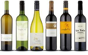 Case of 6 Wines - mixed/red/white £19.99 (£3.33 per bottle) delivered with quiz voucher (New customers) @ Naked Wines