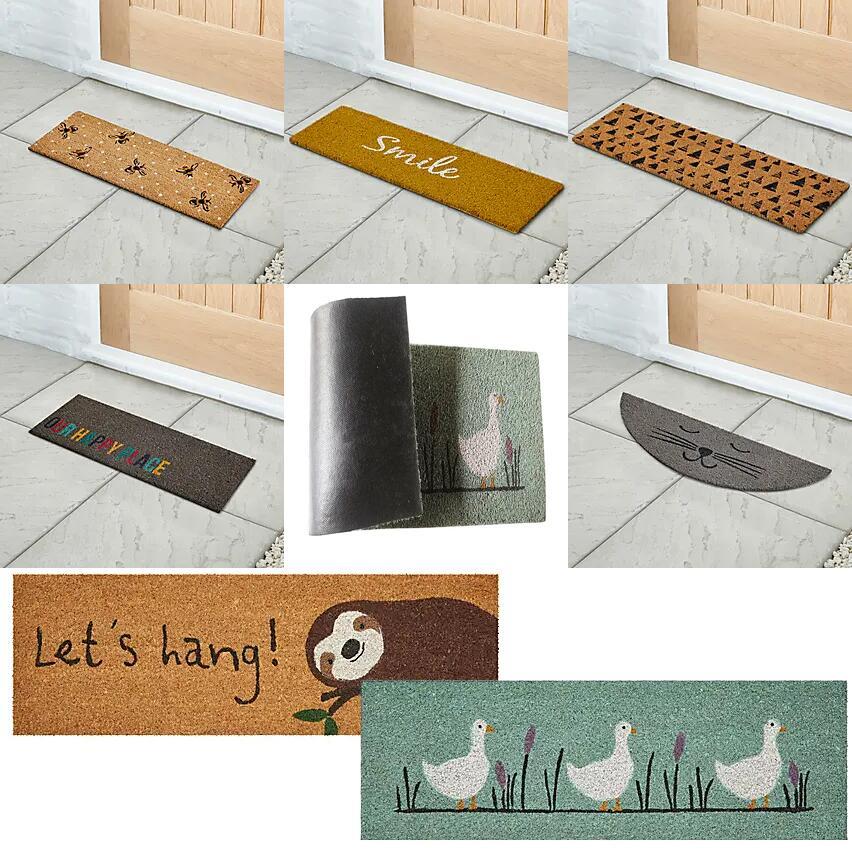 Half Step Doormats - £3 Each Using Click & Collect @ Dunelm